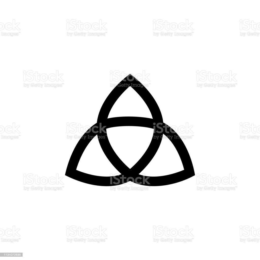 religion symbol, paganism icon. Element of religion symbol...