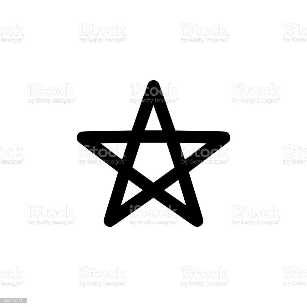 religion symbol, Wicca icon. Element of religion symbol illustration....