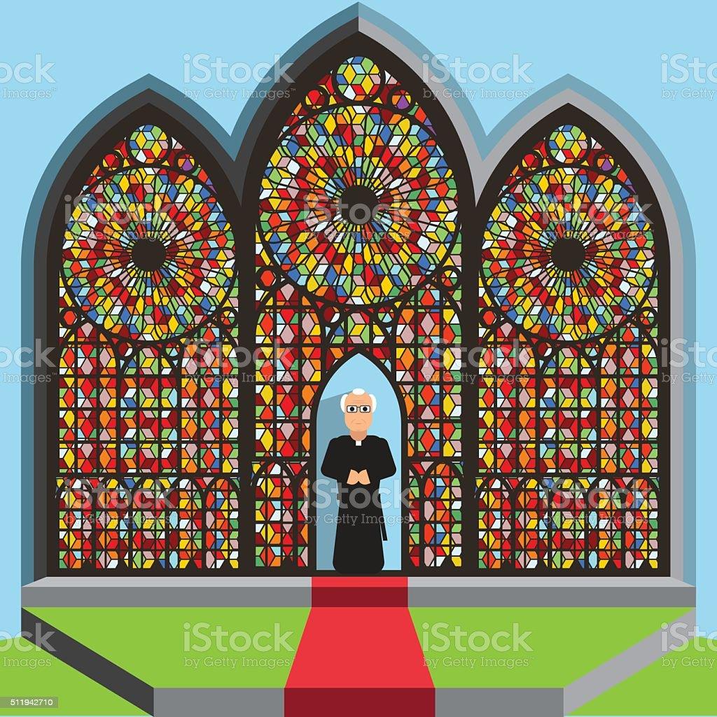 Religion vector art illustration