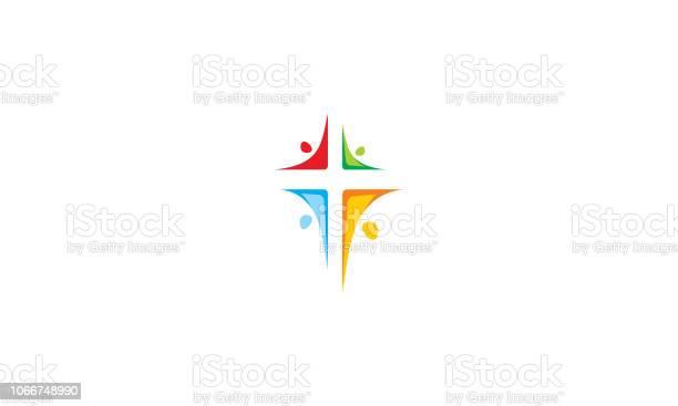 Religious cross church logo icon vector vector id1066748990?b=1&k=6&m=1066748990&s=612x612&h=qjlhsah6dlxw pymknnsxwkrxyhaz4vtczixlryoxnw=