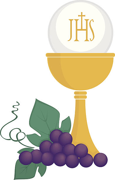 religious symbols - communion stock illustrations, clip art, cartoons, & icons