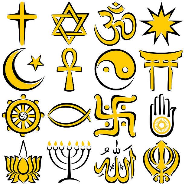 Royalty Free Religious Symbol Clip Art Vector Images