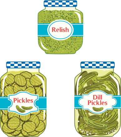 Pickle Clip Art, Vector Images & Illustrations - iStock