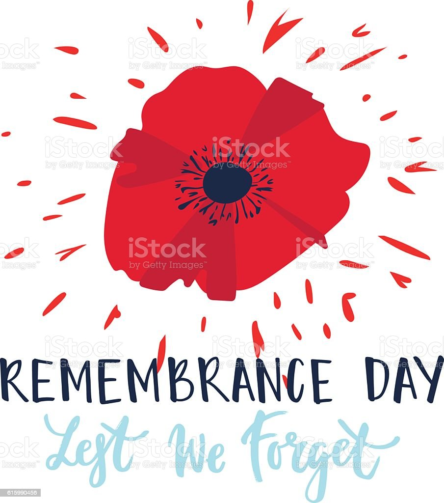 remembrance day stock vector art 615990456 istock