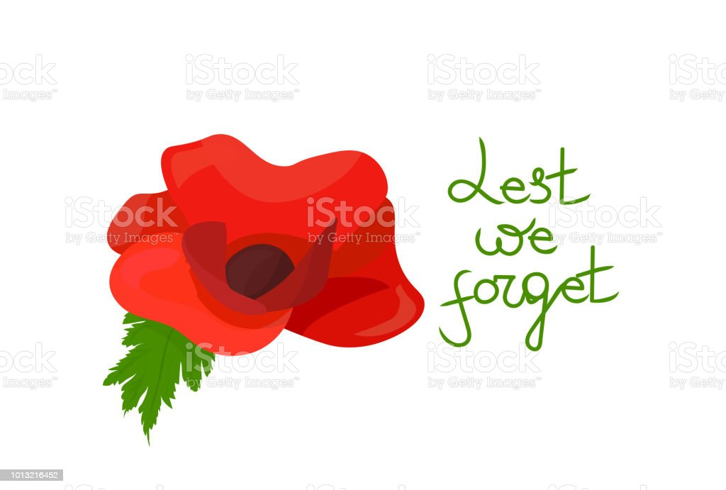 Remembrance poppy vector illustration remembrance day poppy flower remembrance poppy vector illustration remembrance day poppy flower and text lest we forget mightylinksfo