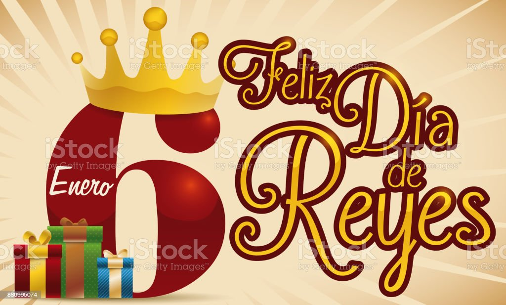 Royalty Free Three Kings Day Spain Clip Art, Vector Images