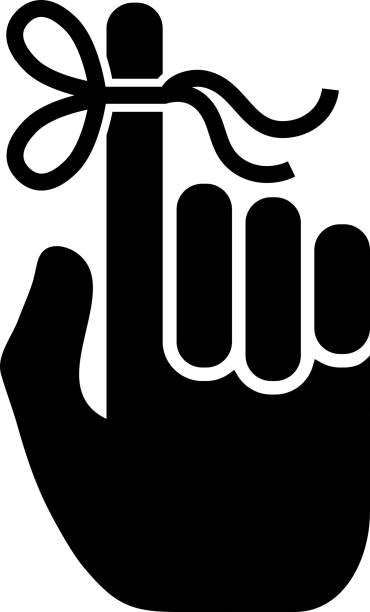 erinnerungssymbol mit langen schatten - gedächtnisstütze stock-grafiken, -clipart, -cartoons und -symbole