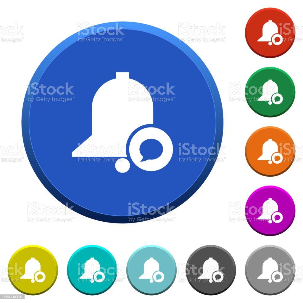 Reminder message beveled buttons reminder message beveled buttons - stockowe grafiki wektorowe i więcej obrazów alarm royalty-free