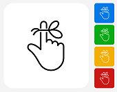 istock Reminder String on Finger Icon 1226143695