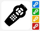Remote Icon Flat Graphic Design