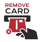 istock Remove Credit Card 1132053692