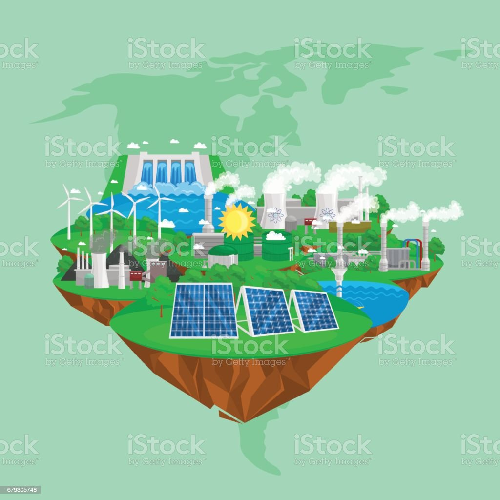 renewable ecology energy icons, green city power alternative resources concept, environment save new technology, solar and wind electricity vector illustration royalty-free renewable ecology energy icons green city power alternative resources concept environment save new technology solar and wind electricity vector illustration stock vector art & more images of alternative energy
