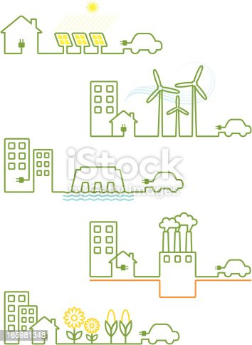 Renewable energies designs