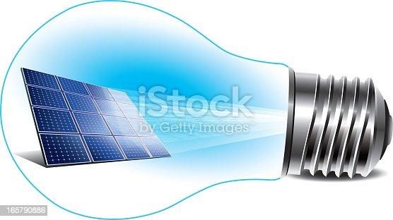istock Renewable Energy - Solar Panel 165790886