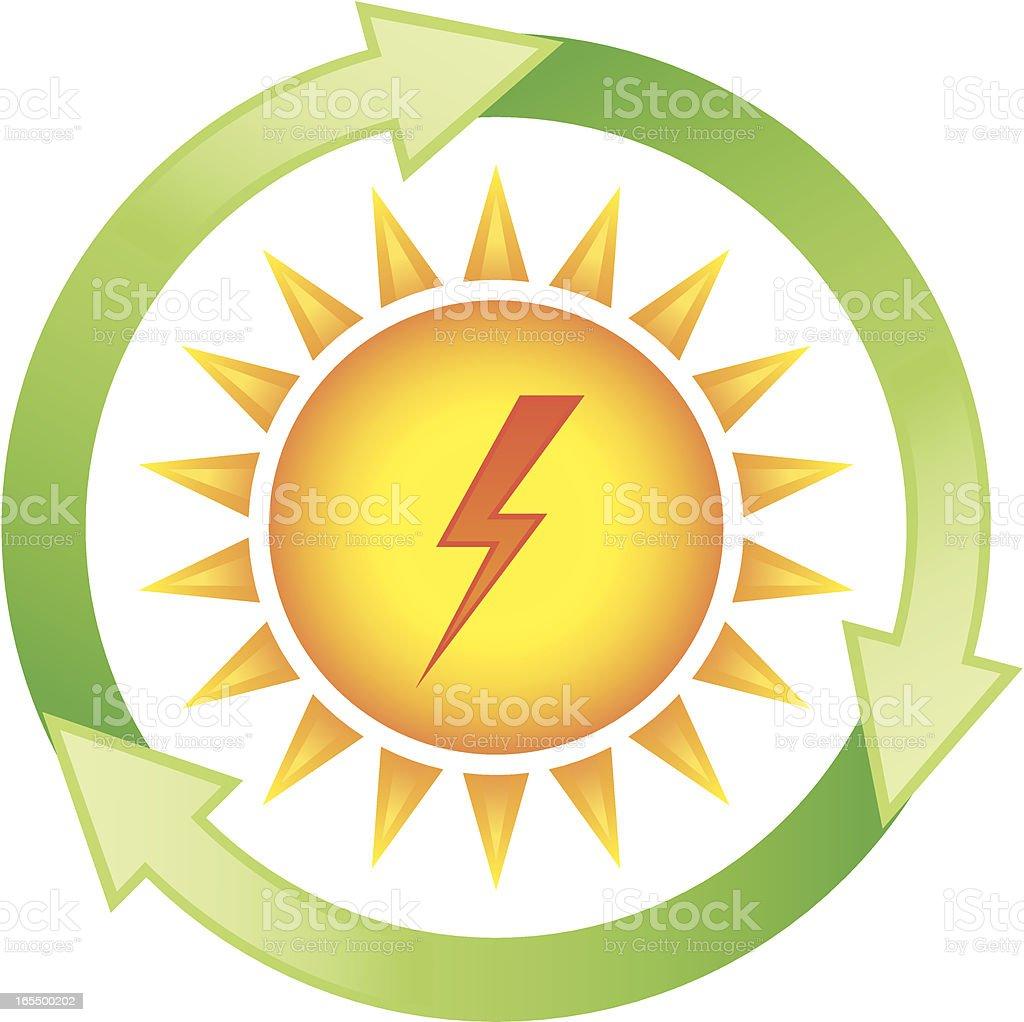 Renewable energy - solar power royalty-free renewable energy solar power stock vector art & more images of alternative energy