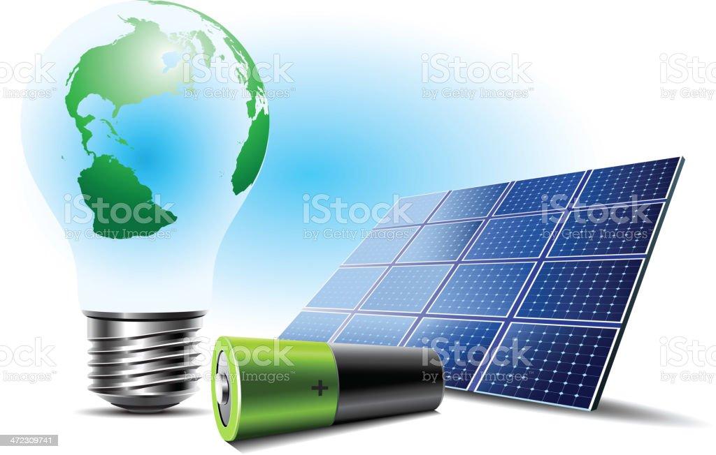 Renewable Energy royalty-free stock vector art