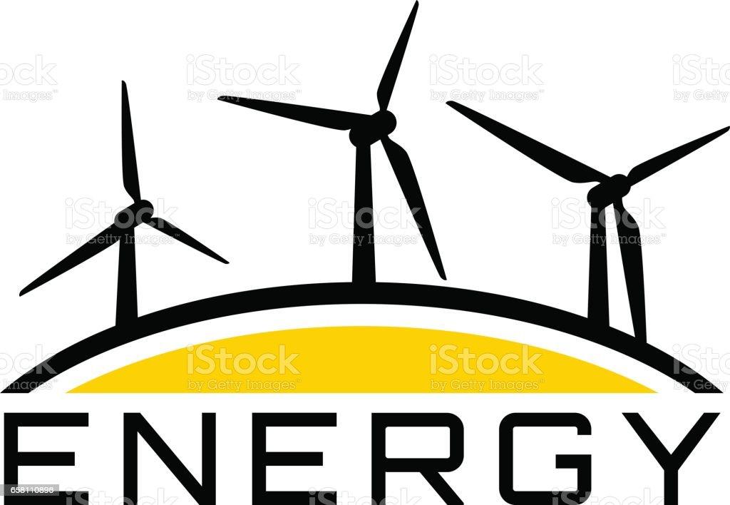 再生可能エネルギー風力発電 アイデアのベクターアート素材や画像を