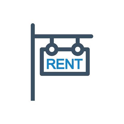 Rent banner icon