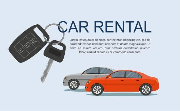 Car Rental Vector Art Graphics Freevector Com