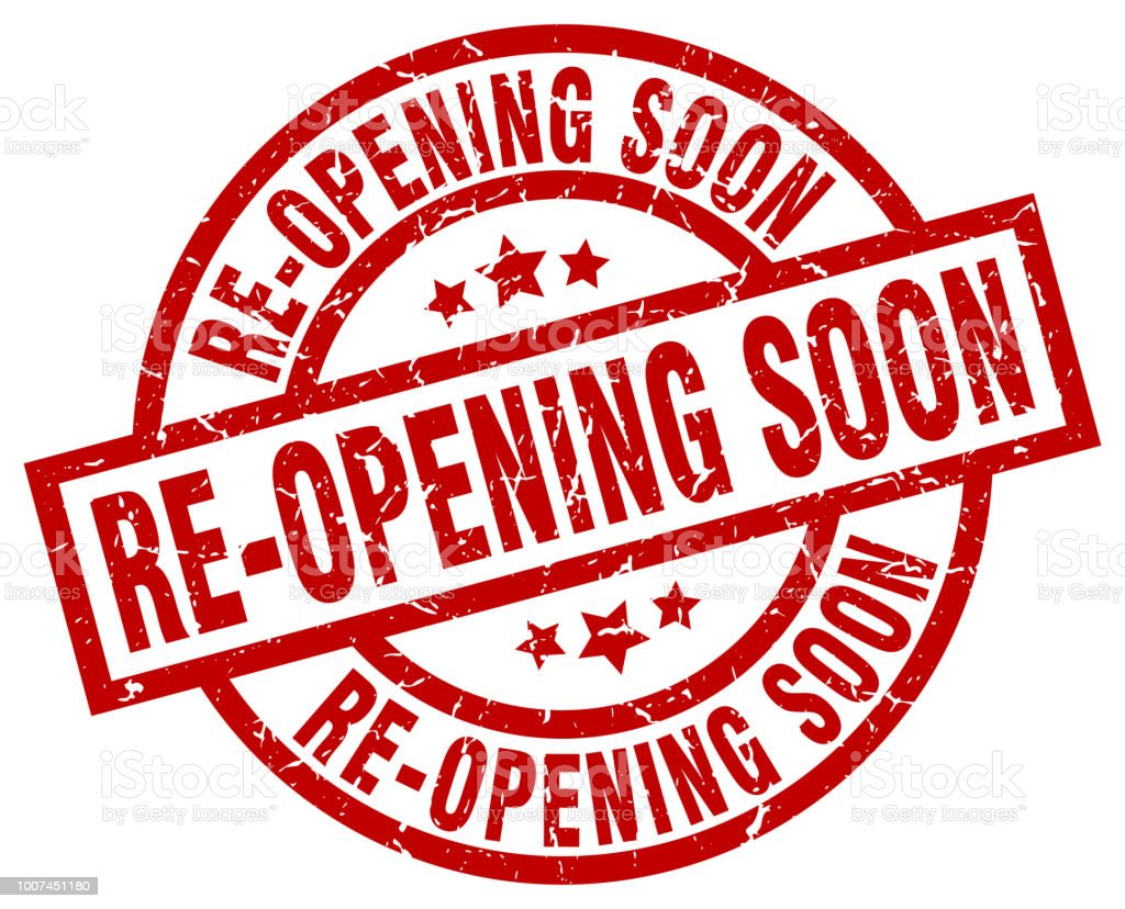 Reopening postponed for now.