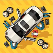 Repair Car Station