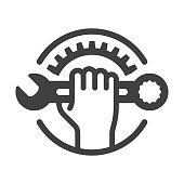 istock Repair icon 969856478