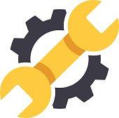 Repair icon. Vector Illustration