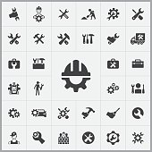 repair icons universal set