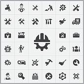 repair icons universal set