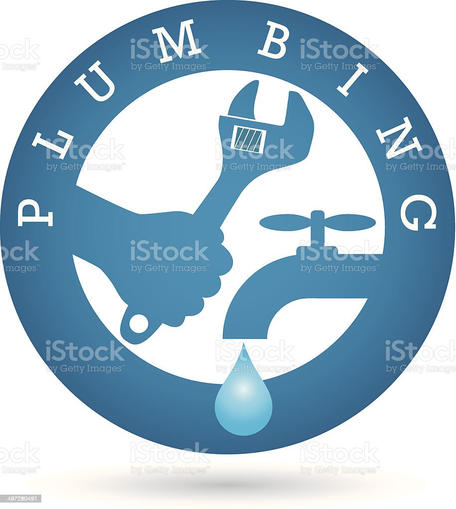 Repair plumbing for vector vector art illustration
