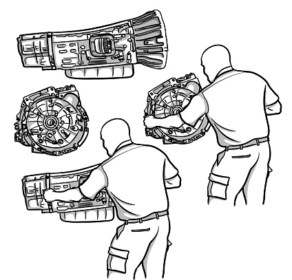 Repair Shop Transmission Mechanic