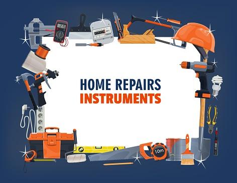 Repair tool frame, construction, carpentry and DIY