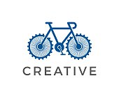 gear, circle, bicycle, icon