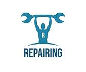 Repair vector icon