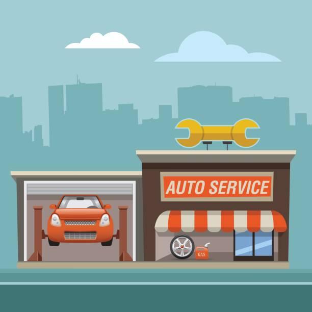 repair_service vector art illustration
