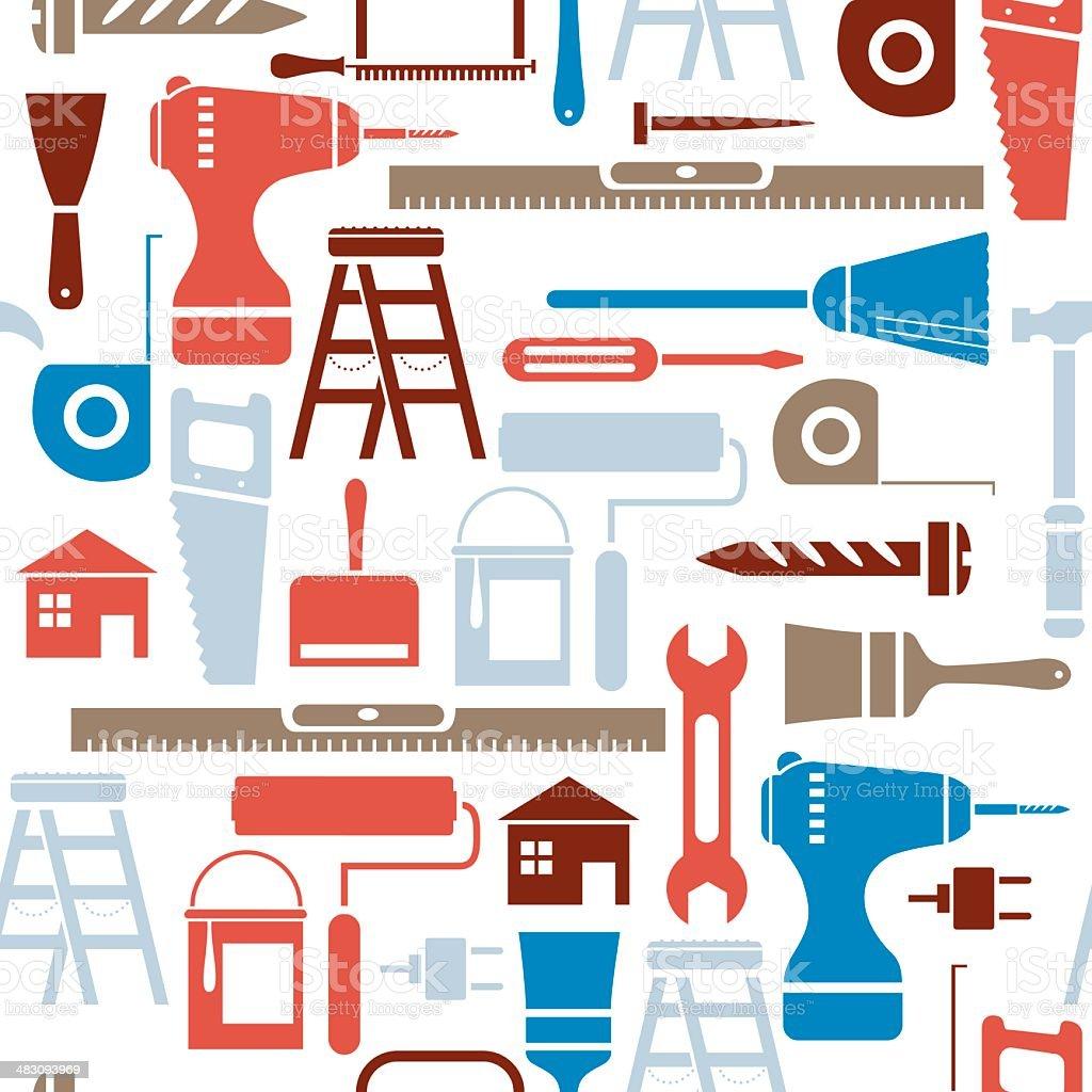 DIY Repeat Pattern vector art illustration