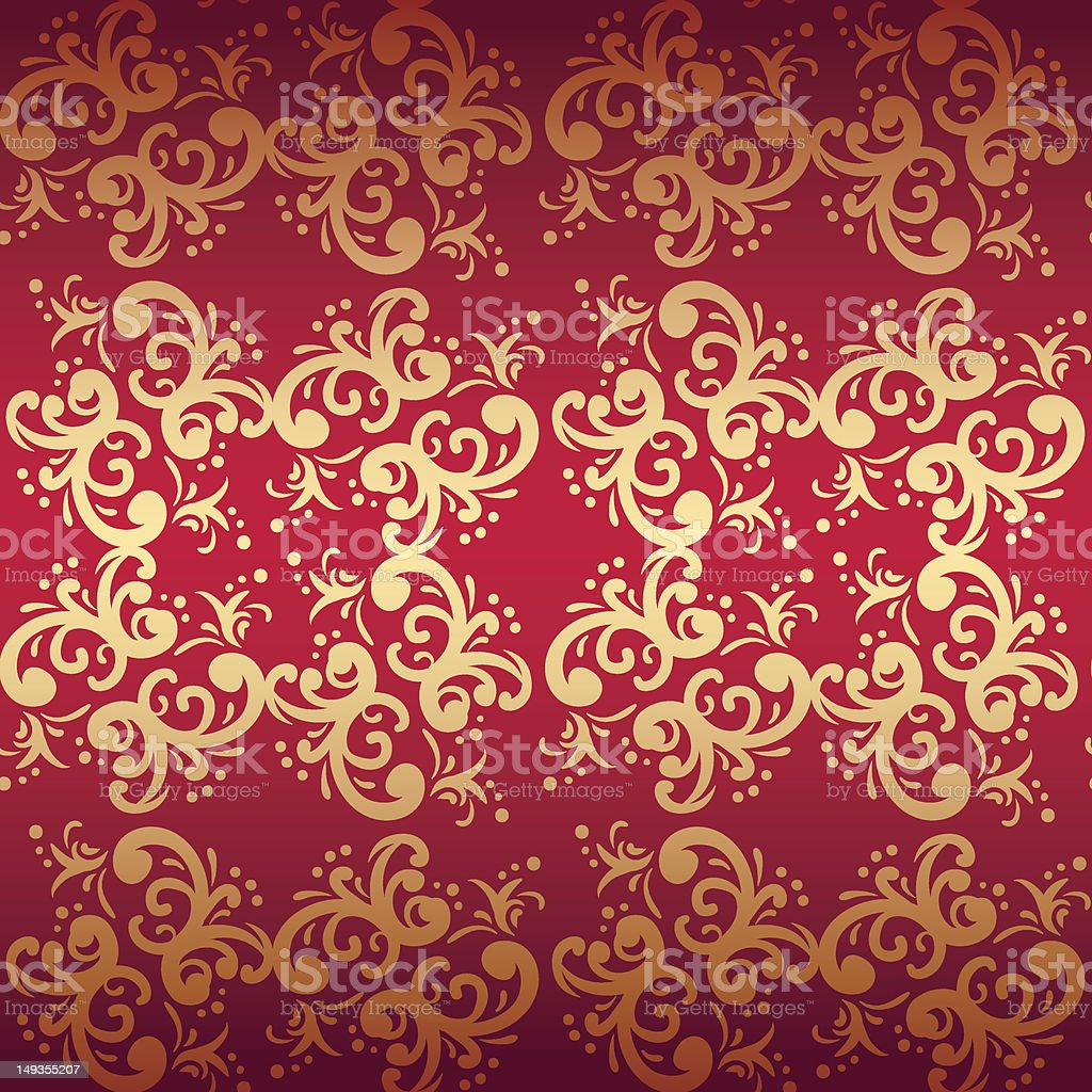 repeat red pattern royalty-free stock vector art