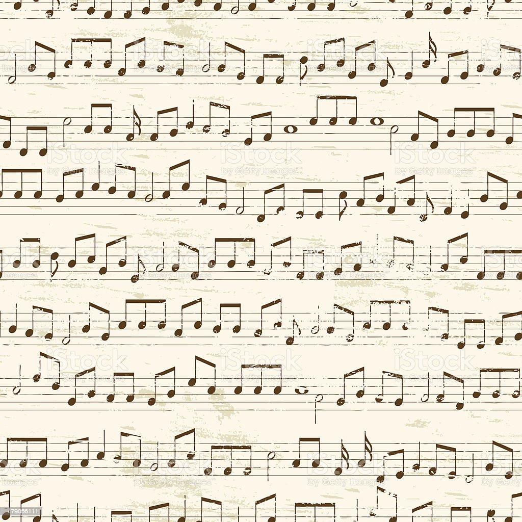Wiederhole Musikalischen Notizen Stock Vektor Art und mehr Bilder ...