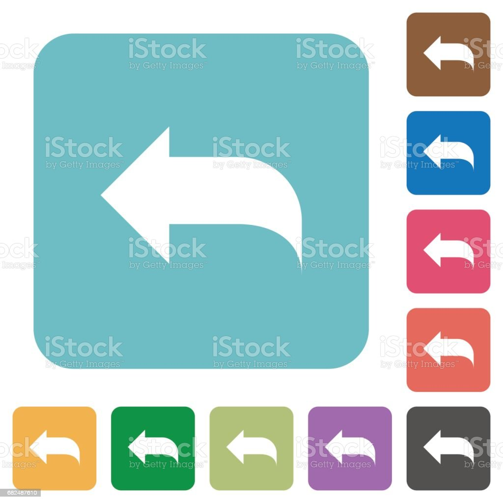 Reply to mail flat icons royalty-free reply to mail flat icons stock vector art & more images of applying