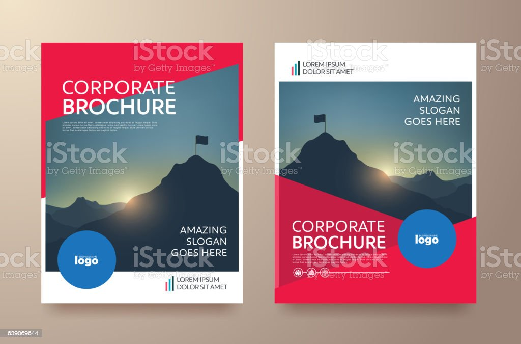 Report Cover 60 vector art illustration