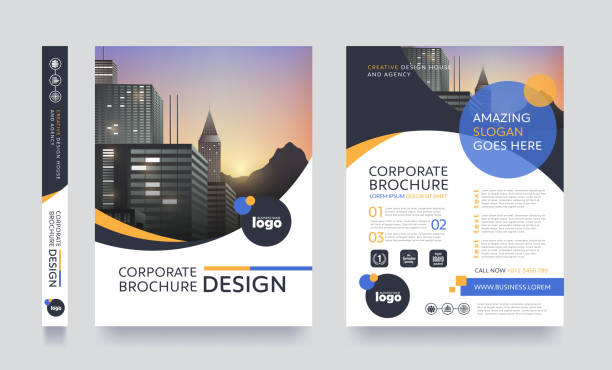 report cover 69 - brochure templates stock illustrations, clip art, cartoons, & icons