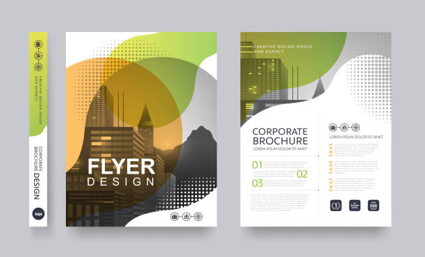 report cover 96 - brochure templates stock illustrations, clip art, cartoons, & icons