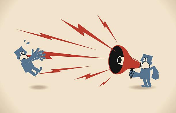 illustrazioni stock, clip art, cartoni animati e icone di tendenza di ammonimento - furioso
