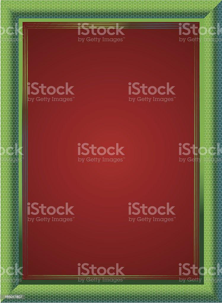 Reptile Frame - Vector royalty-free stock vector art