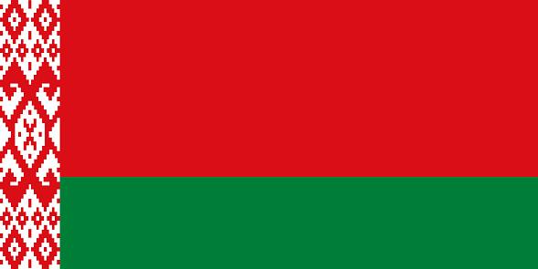 Republic of Belarus Europe Flag