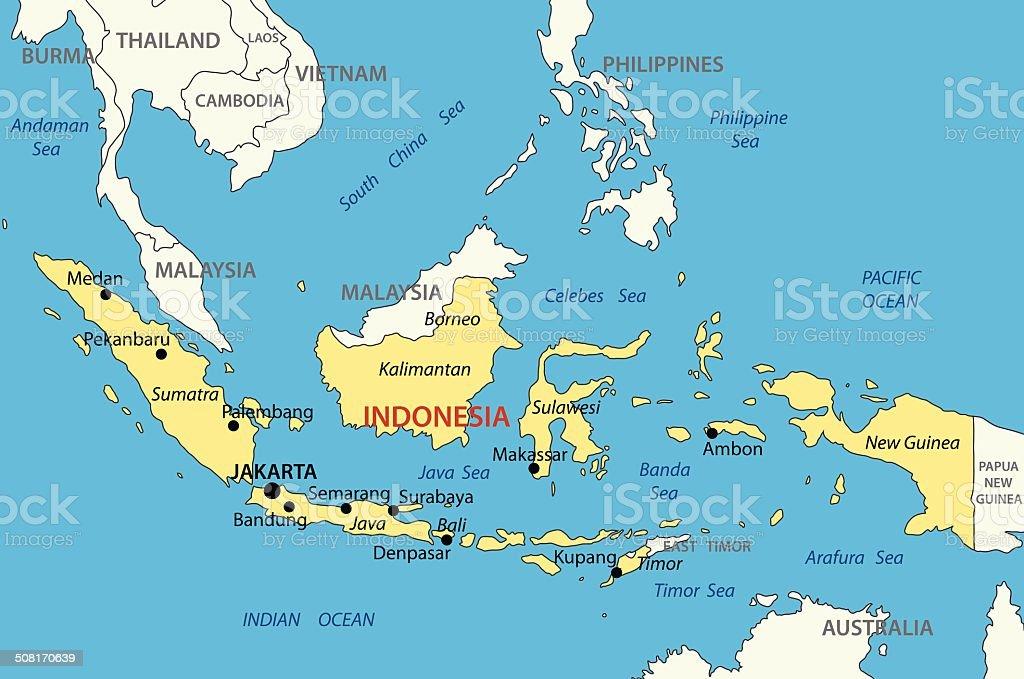 Ilustracin de repblica de indonesiavector map y ms banco de repblica de indonesia vector map ilustracin de repblica de indonesiavector map y ms banco de gumiabroncs Images