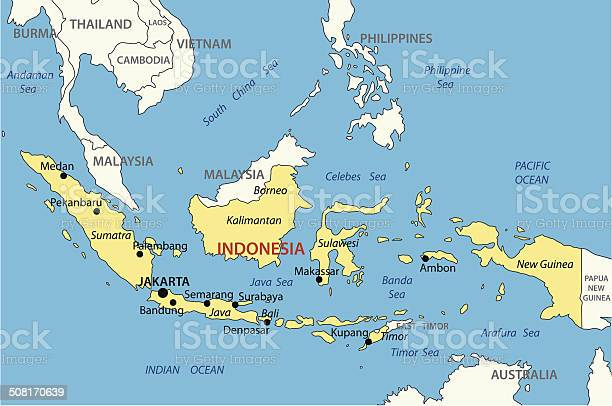 Indonesia Map Free Vector Art 12 793 Free Downloads