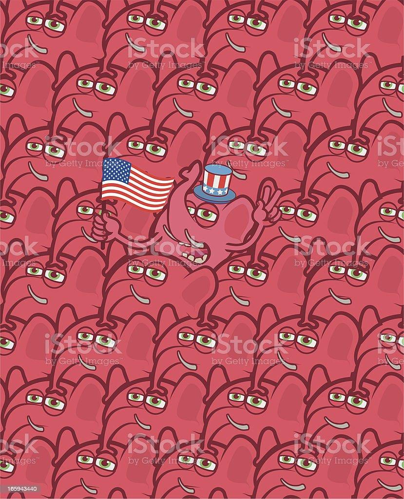 Republican elephants royalty-free republican elephants stock vector art & more images of american culture