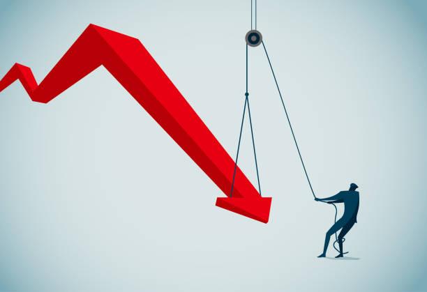 rescue commercial illustrator recession stock illustrations