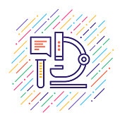 istock Research Line Icon 1020794338